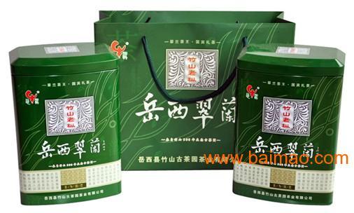 安徽特产岳西翠兰茶叶图片
