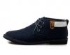 ?#21476;?#29305; 个性百搭舒适男士皮鞋 商务中帮鞋正装休闲鞋