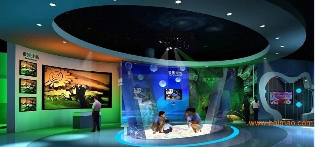 多媒体展馆展厅设计建造博物馆展览馆规划馆科技馆等图片