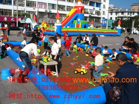 沙滩玩具批发充气沙滩池玩具批发儿童沙滩玩具决明子沙
