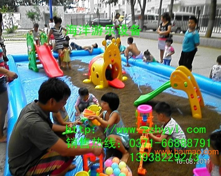 充气沙滩池玩具批发儿童充气沙滩池价格决明子沙滩玩具