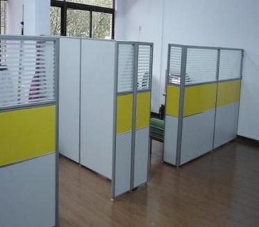 铝合金屏风隔断办公桌