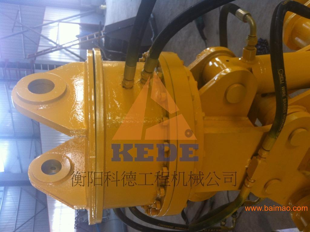 1,机械式抓木器:采用挖掘机铲斗油缸推动,不用另外添加液压块及管路图片