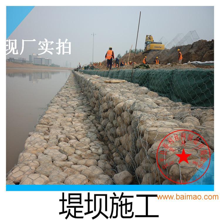 厂家直销镀锌格宾网优质石笼网箱河道截流量大价优