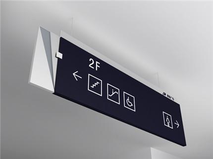大型商场空间导视系统图片