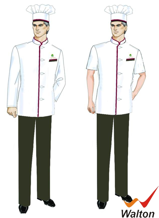 厦门工作服厂家、厨师制服