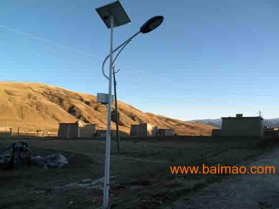 云南太阳能路灯20W5h昆明报价6米标亮基本配置型