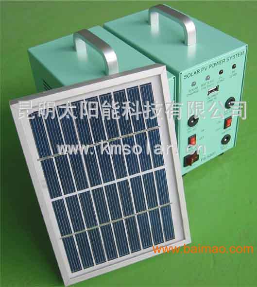 云南太阳能路灯厂家/昆明太阳能发电小系统迷你10