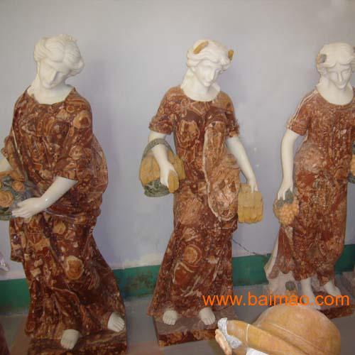 西方人物雕塑|曲阳名人石雕