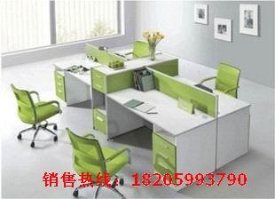 时尚四人组合办公桌 办公家具厂家直销