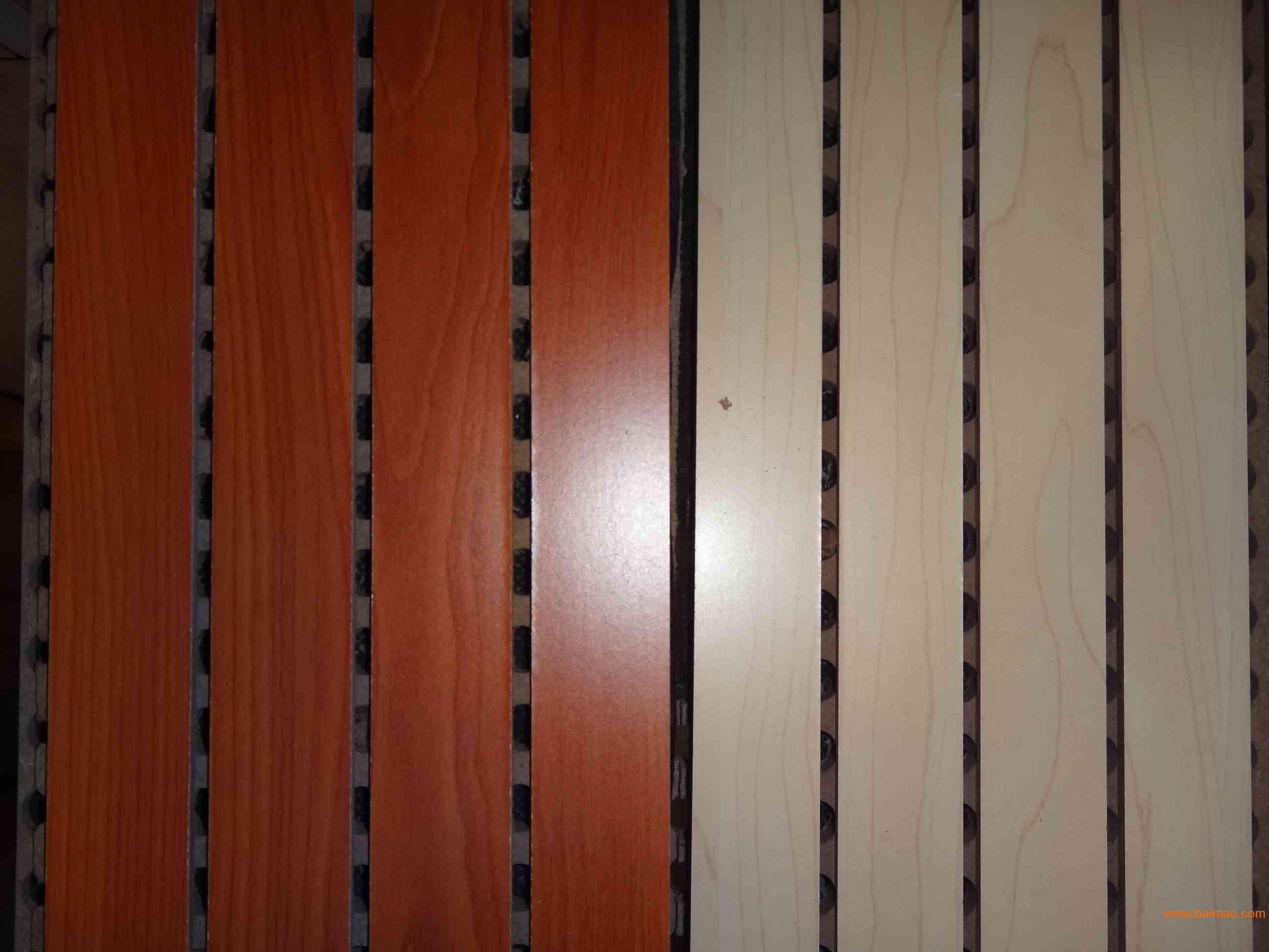 木质吸音板实体产品1