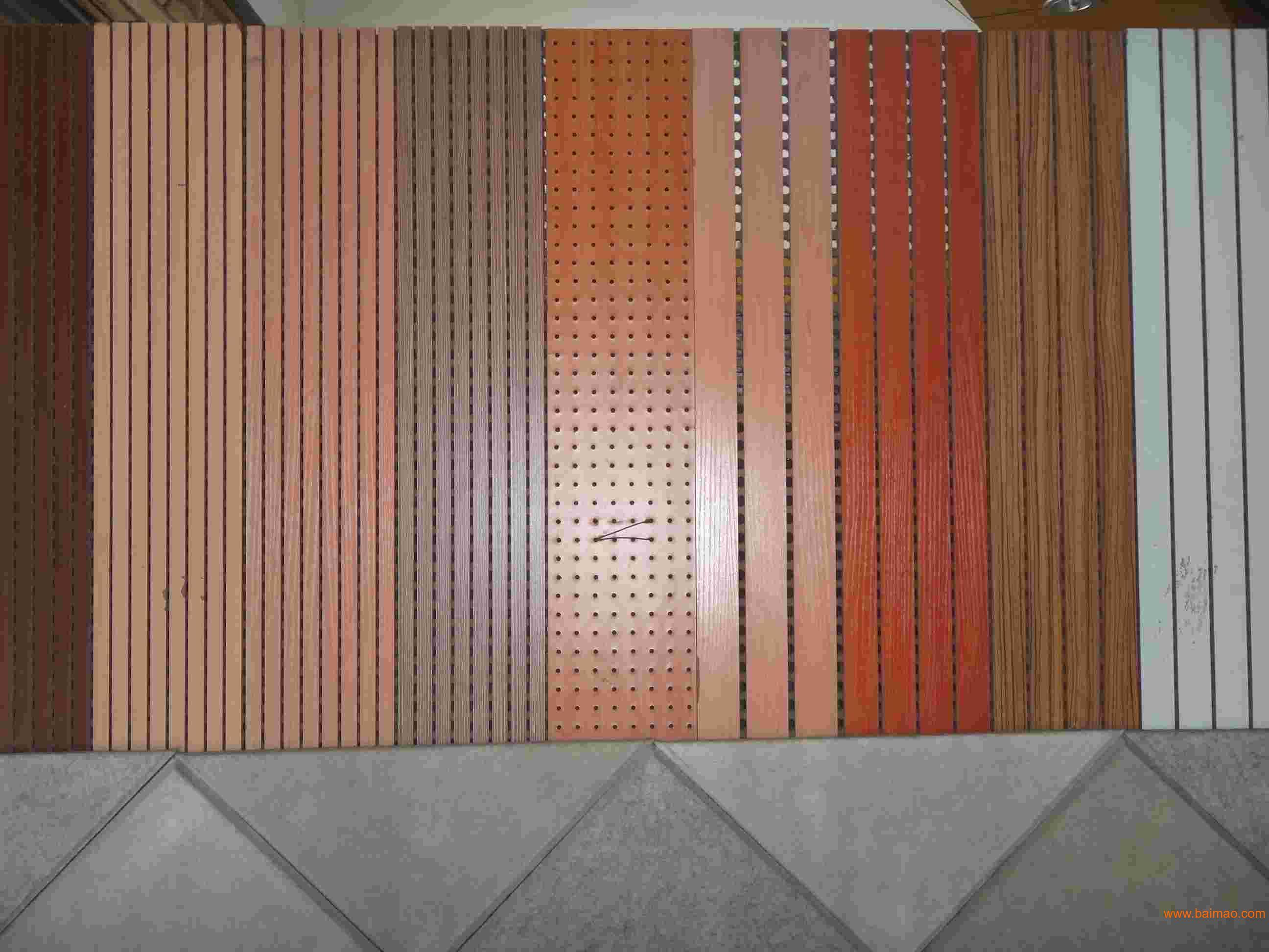 木质吸音板实体产品2