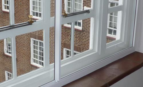 百叶中空玻璃隔音窗