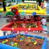 3*3正方形充氣沙灘池 加厚pvc兒童沙池玩具