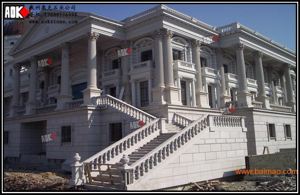 欧式建筑,欧式别墅,石材石材,效果干挂外墙别墅外墙南京图片