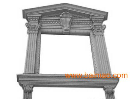 广西罗马柱欧式构件GRC窗套,广西罗马柱欧式构件GRC窗套生产厂家,广西罗马柱欧式构件GRC窗套价格