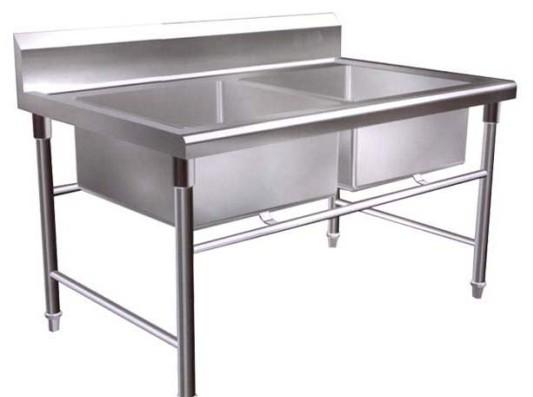 专业厨房设备-双星水池