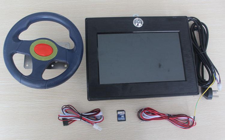 供應深圳小騰龍搖搖車專用3D互動游戲套件控制器