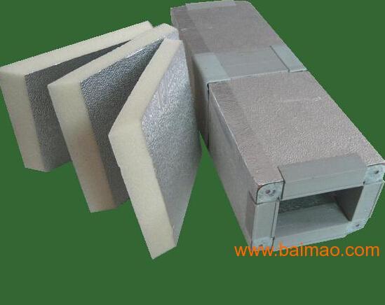 双面铝箔聚氨酯风管厂家 价格 型号,双面铝箔聚氨酯风管厂家 价格