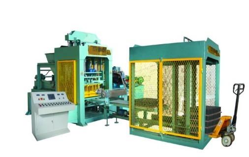 厂家直销液压全自动水泥制砖机图片