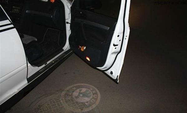 车门投影灯改装