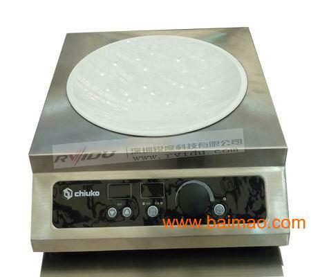 山东大功率电磁炉,锐度台式双头平头灶,展现餐饮灶具优势佳品