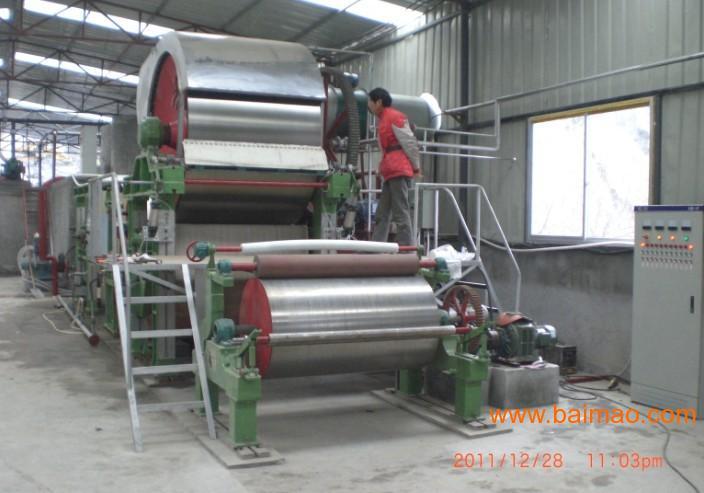 市顺富造纸设备机械制造厂批发供应小型造纸机,制浆设备,复卷图片