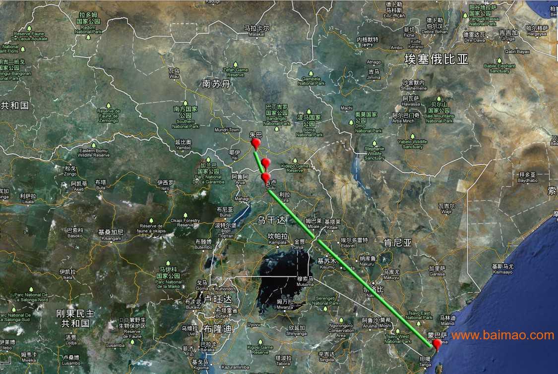 南苏丹朱巴Juba运输