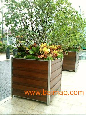 园林木质花盆价格咨询振兴景观打造品牌园林木质花盆,园林木质花盆