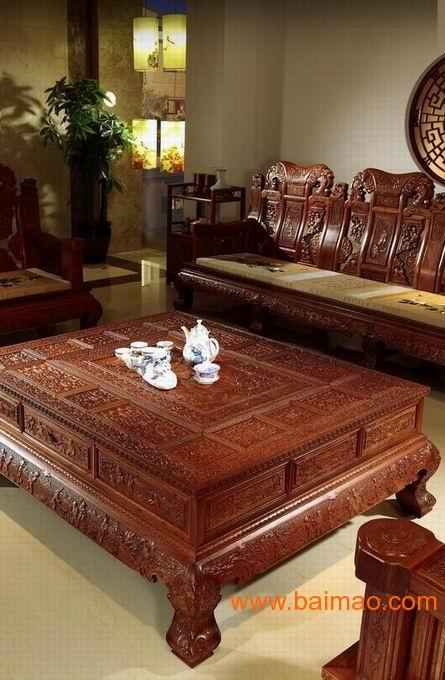 财源滚滚撒沙发红木家具红木沙发古典家具,财源滚滚撒沙发红木家具图片