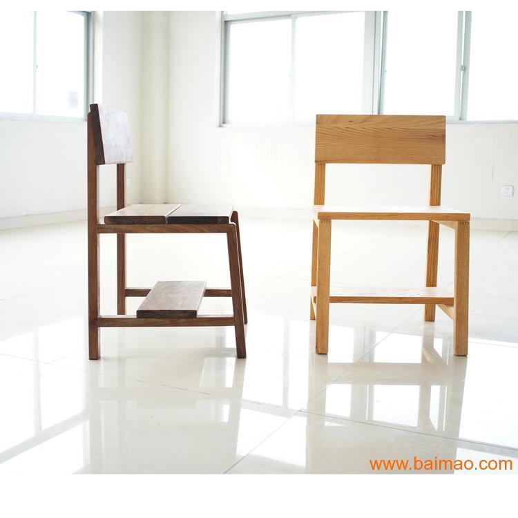 简约个性椅子 吧台椅 大板桌椅