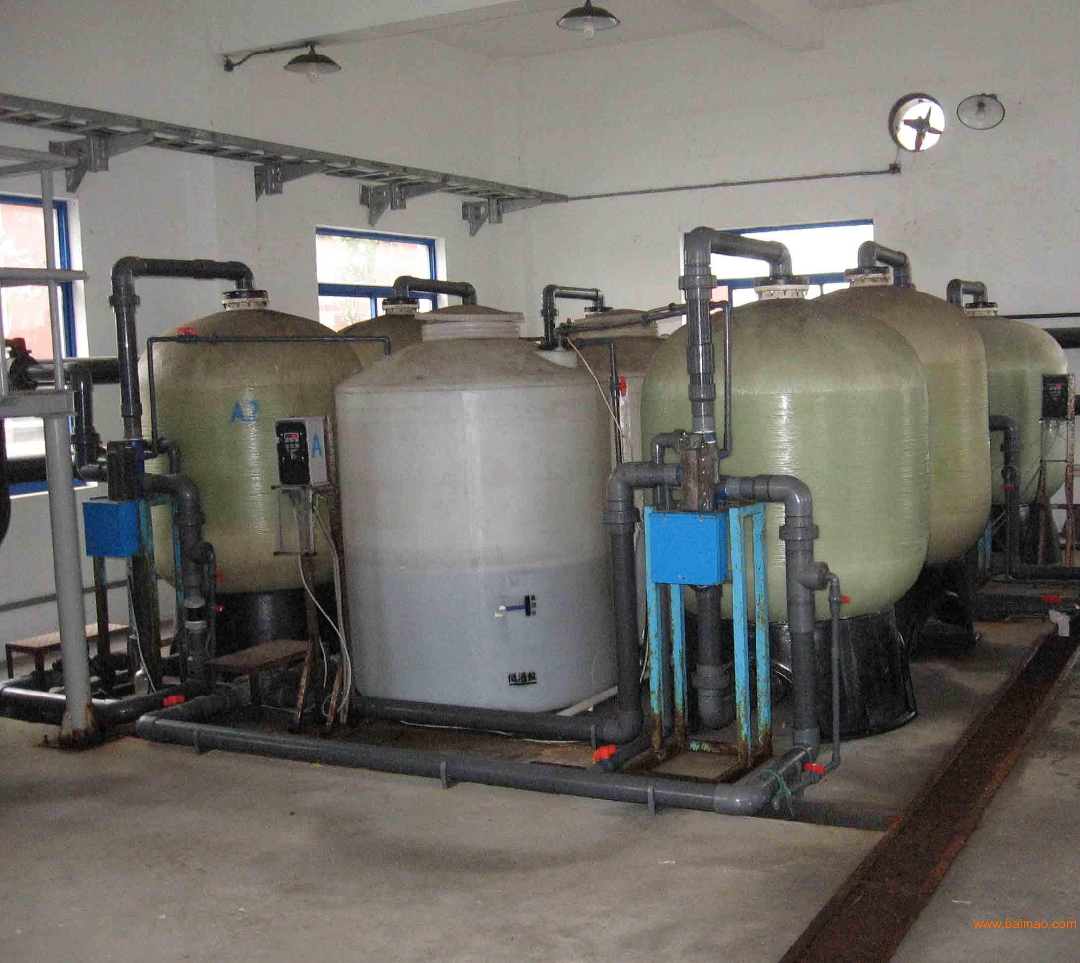 2级软化水设备cad图