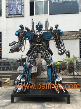 大型变形金刚擎天柱金属汽车模型可活动智能机器人