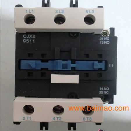 CJX2 6511交流接触器接线图,CJX2 6511交流接触器接线图生产厂