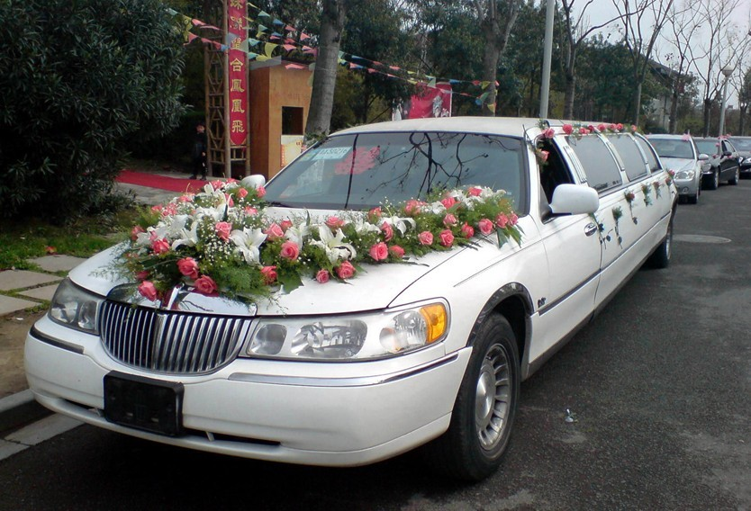 莆田婚车装饰,婚车租赁