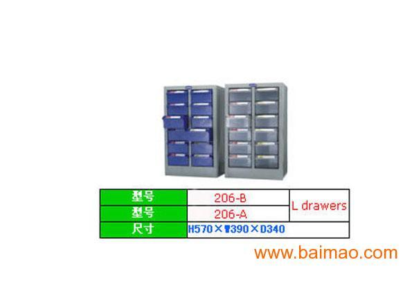 南山零件柜透明零件柜廠家,藍色零件柜,防靜電零件柜