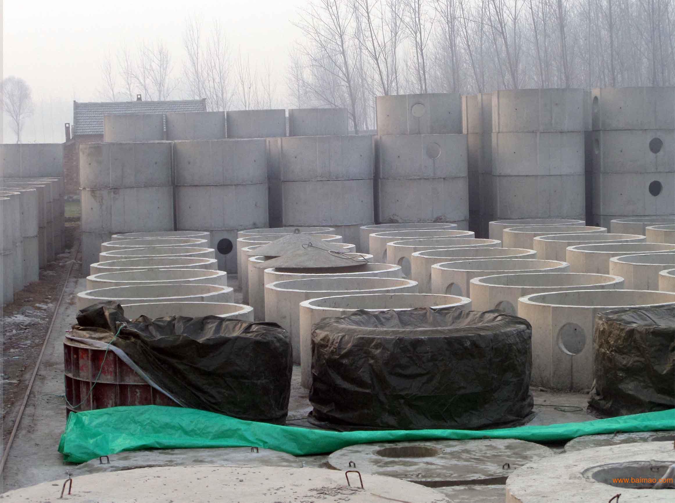 钢筋混凝土化粪池标准图集03s702图片下载 钢筋混凝土化粪