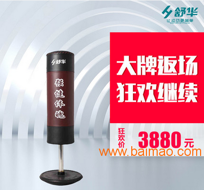 上海舒华健身器材sh-706健身房皮革不倒翁